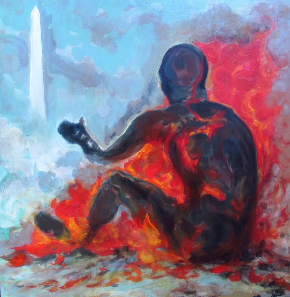 Washington Mall Immolation